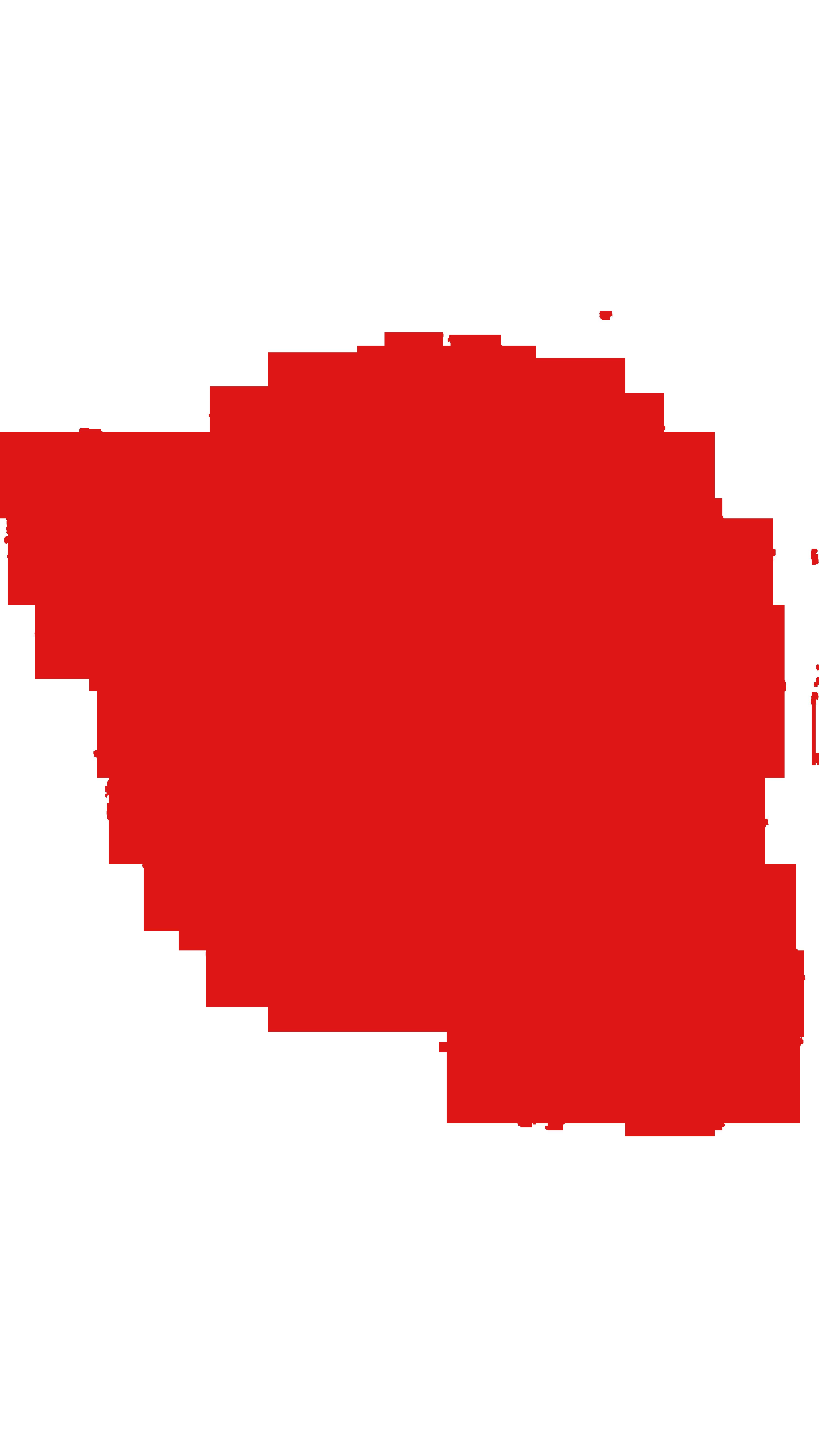 Red glow circle png download.
