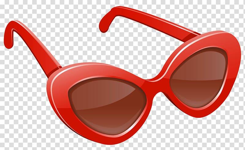 Red sunglasses illustration, Sunglasses Pink , Red.