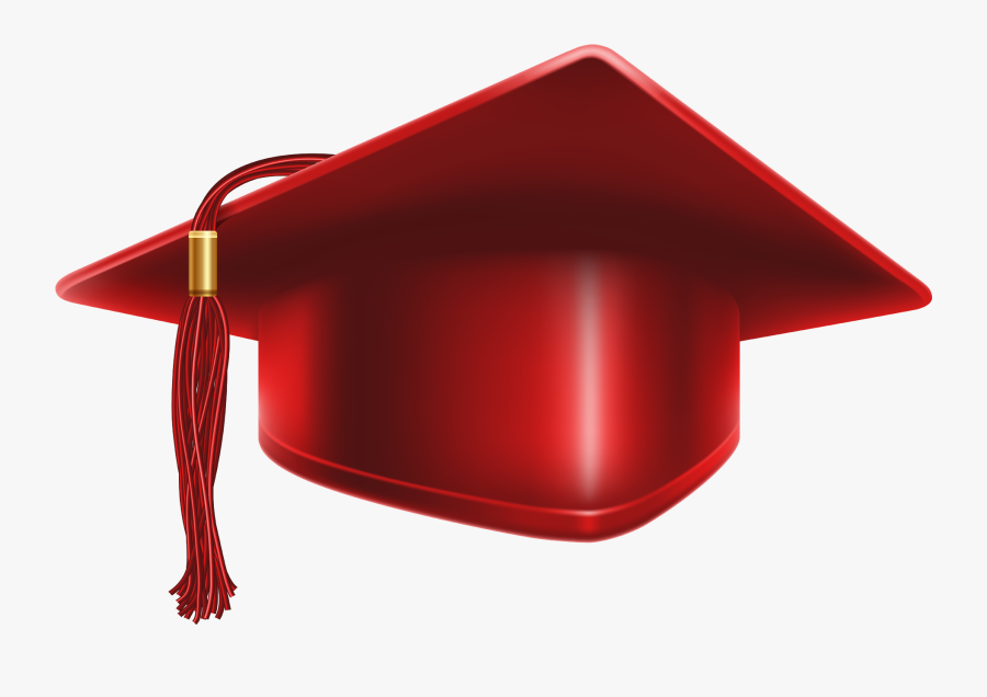Royalty Free Download Maroon Graduation Cap Clipart.