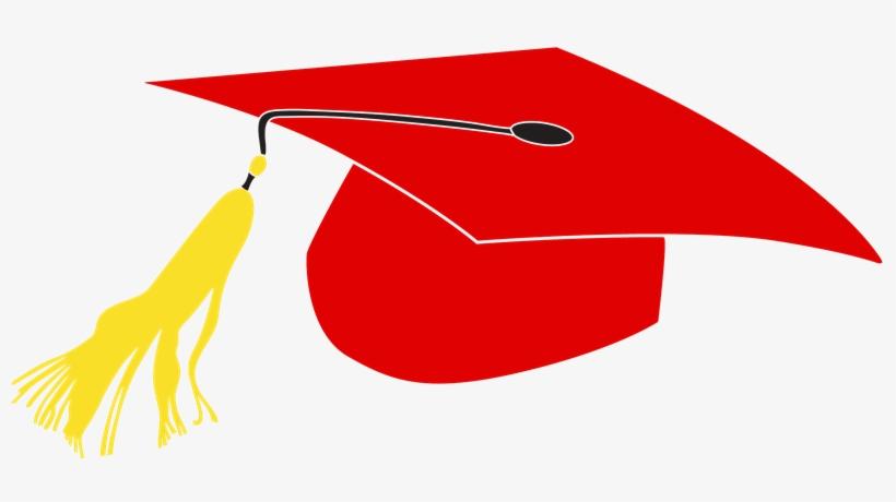 Red Graduation Cap Clipart.