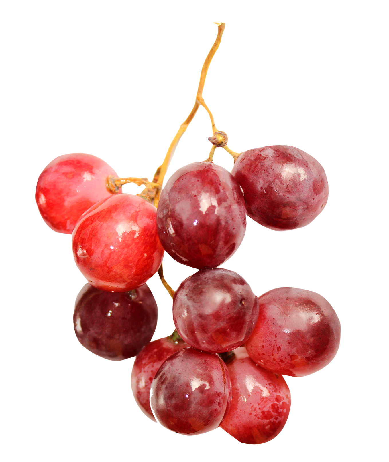 Red Grapes PNG Image.