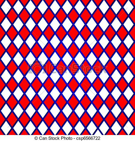 Clip Art of red grid.