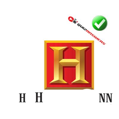 Gold h Logos.