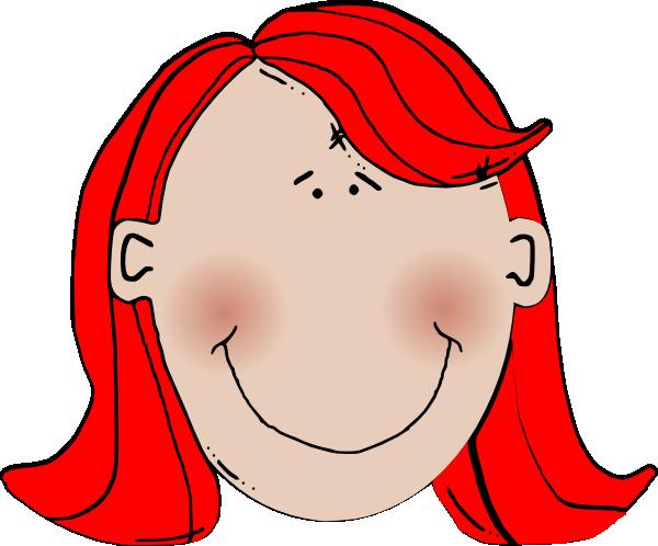 Red Hair Clipart.