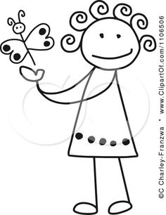 stick figure clip art to use in drawings during write to's.