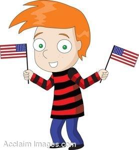 Red Hair Boy Clipart.
