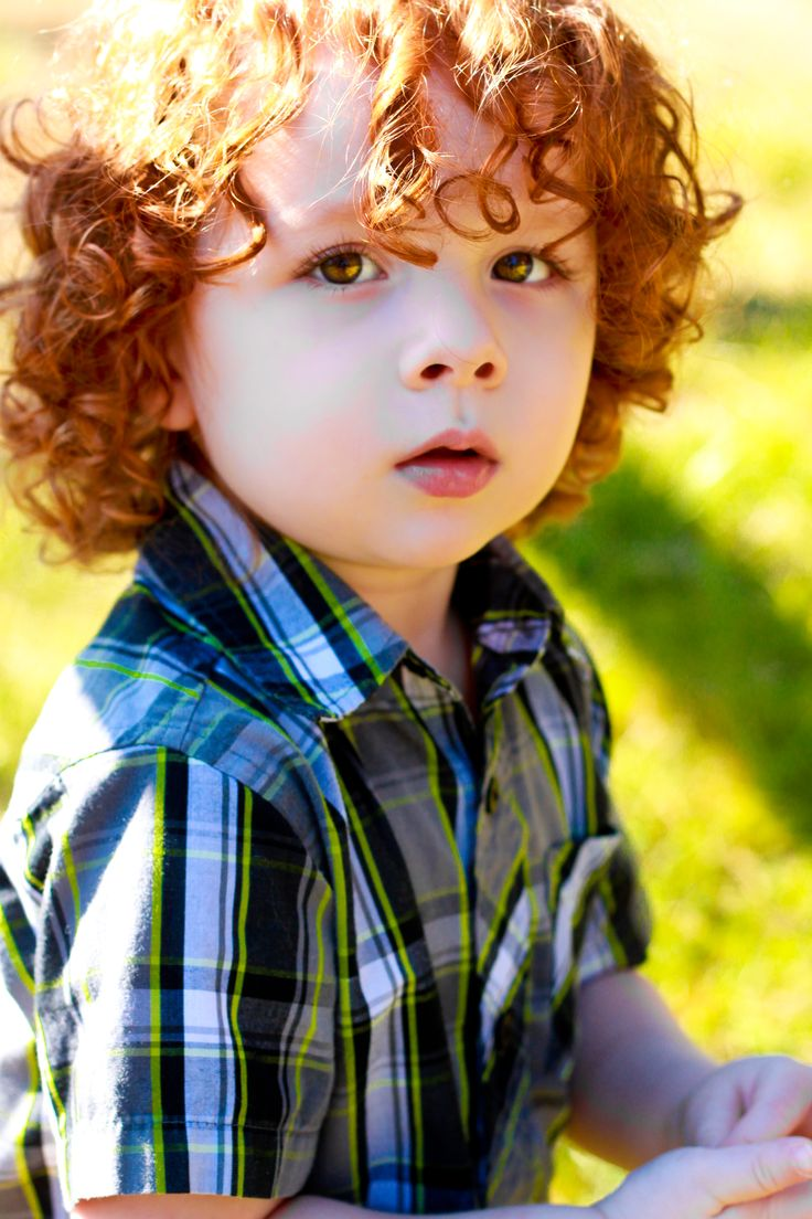 Red Haired And Curly Boy Blue Eyes Clipart Clipground