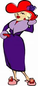 Red Hat Society Border Clipart.