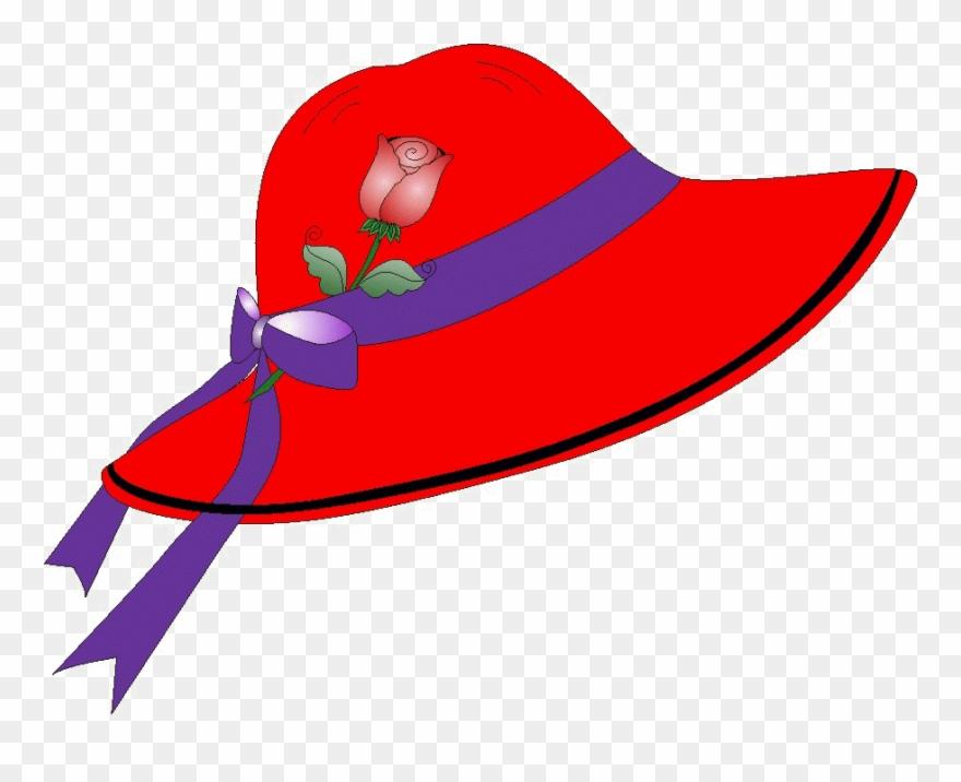 Red Hat Society Clip Art.