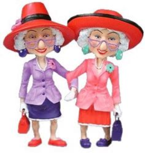 Red Hat Ladies Clipart.