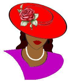 Red hat society clipart 3 » Clipart Station.