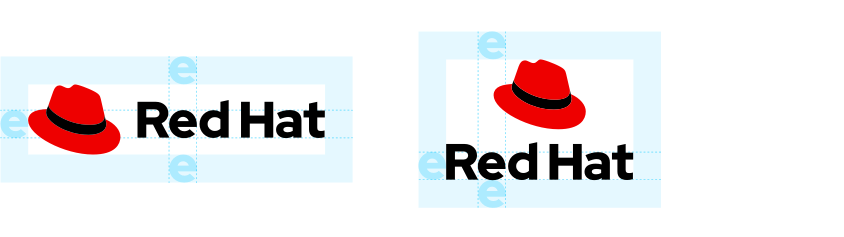 Red Hat logo standards.