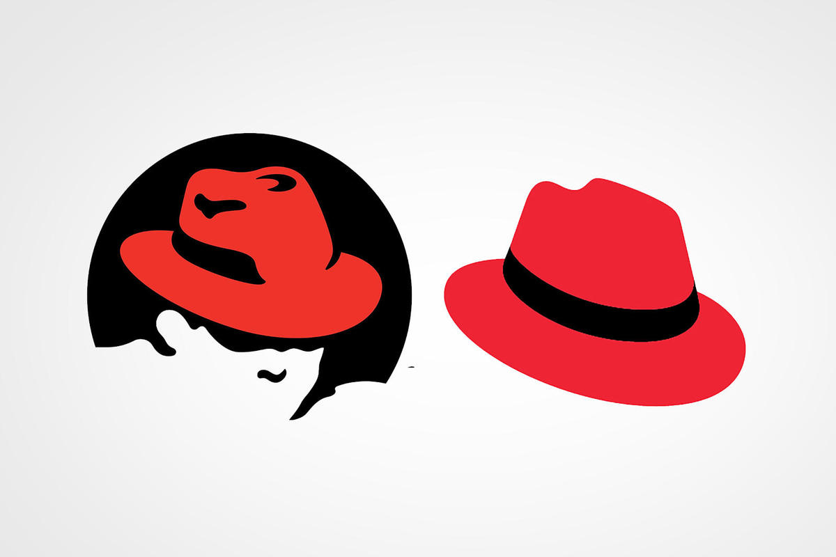 Goodbye, Shadowman: Red Hat changes its logo.