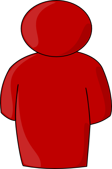 Red People Clipart.