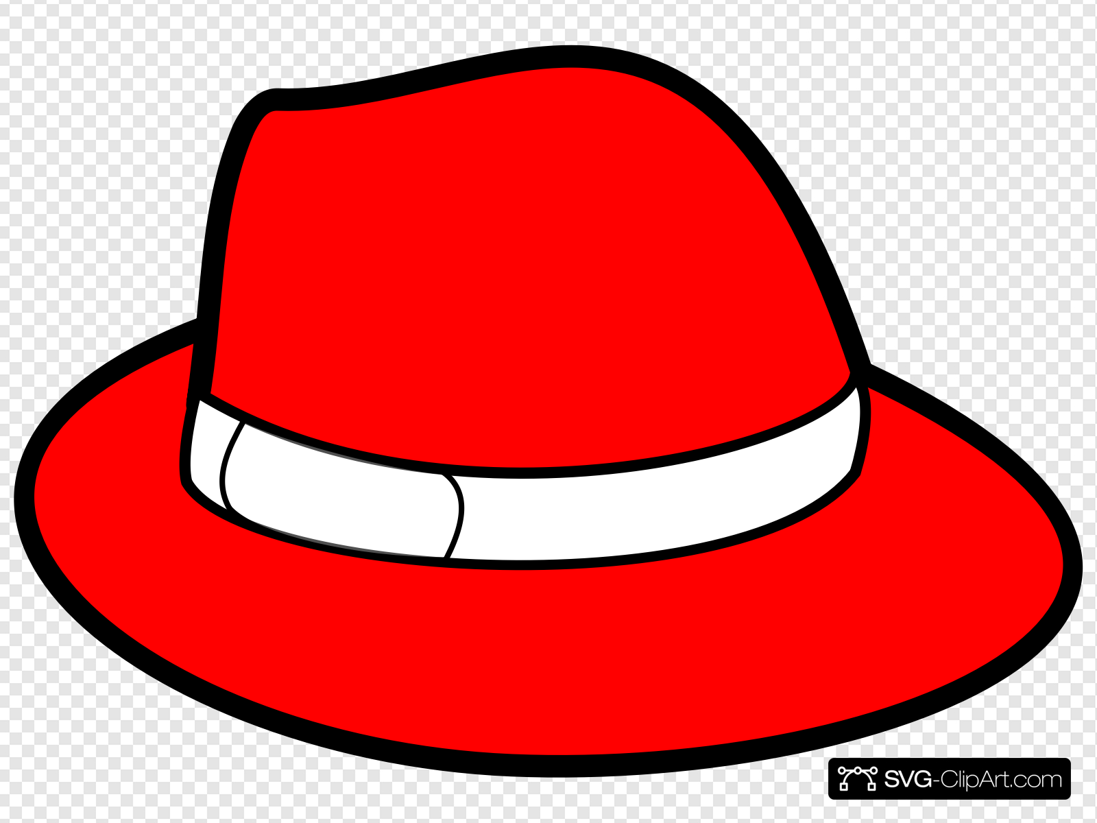 Red Hat Clip art, Icon and SVG.