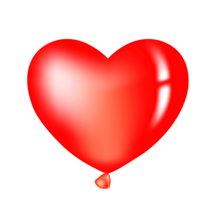 Red Heart Balloon Clipart PNG Image Free Download searchpng.com.