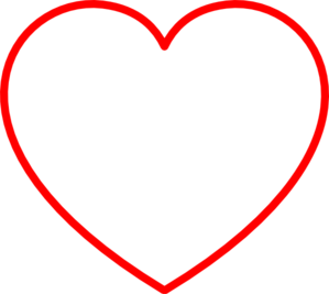 Red Heart Clip Art.