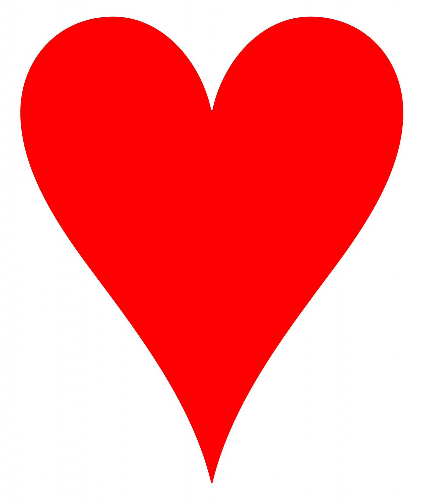 Red Heart Clipart Free Stock Photo.