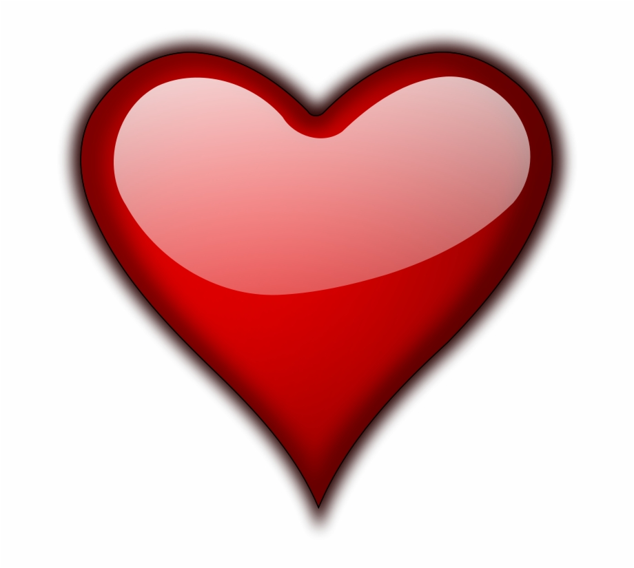3d Red Heart Png Hd.