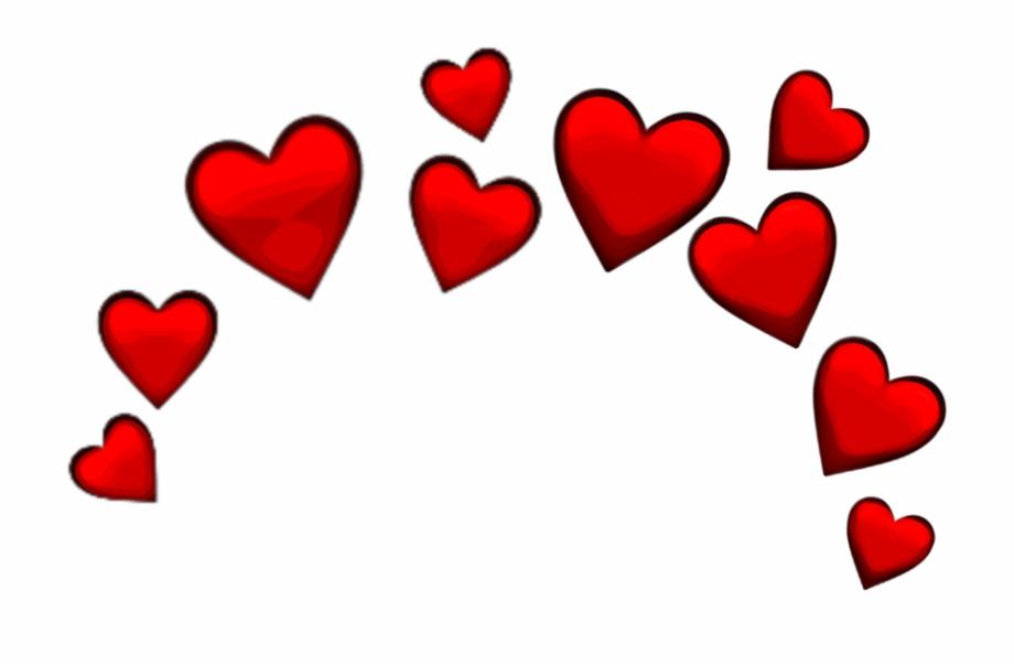hearts #heart #crown #red #redheart #redemoji #iphoneemoji.