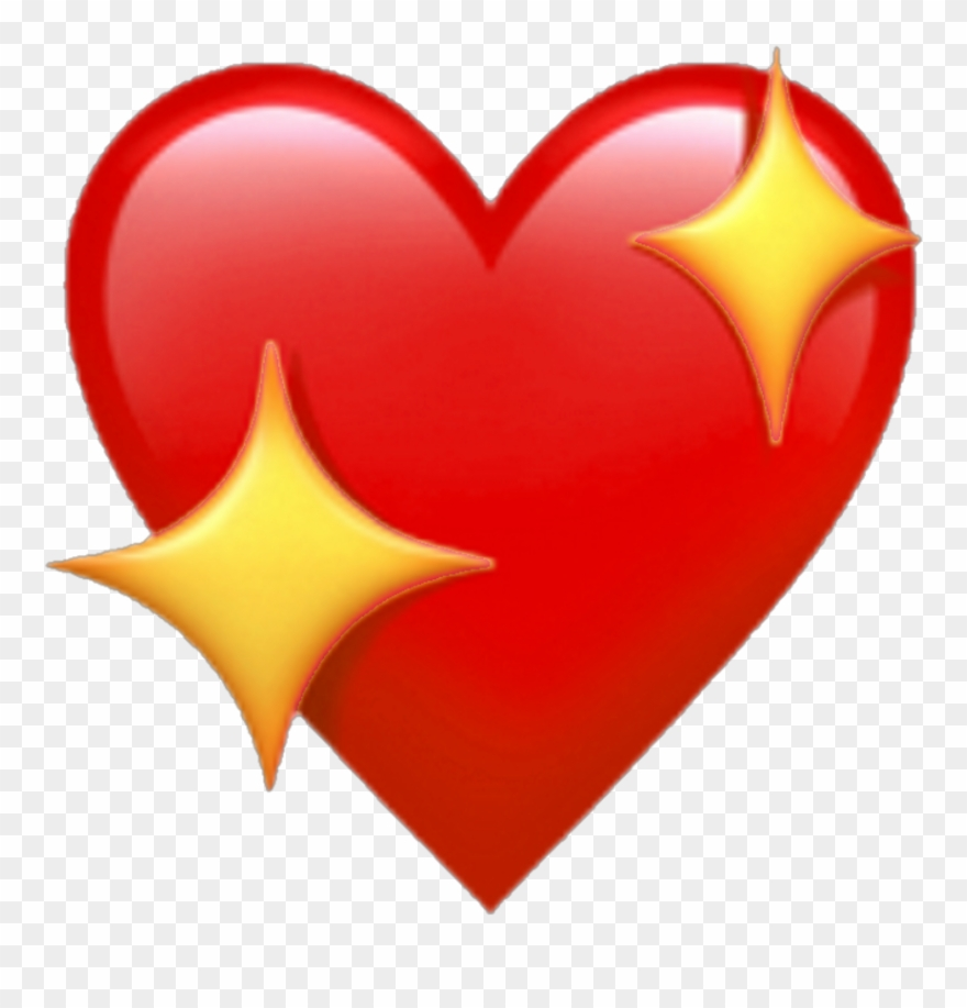 Redemoji Red Heart Redheart Emoji Apple Heartemoji.