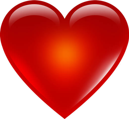 Red Heart Emoji Png Hd.