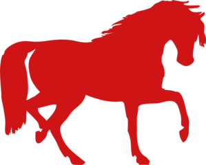 Red Horse Clip Art at Clker.