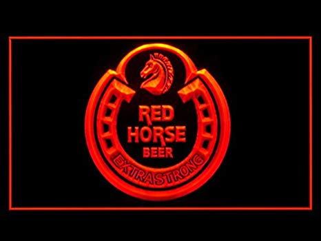 Amazon.com: Red Horse Beer Extra Strong Led Light Sign: Home.