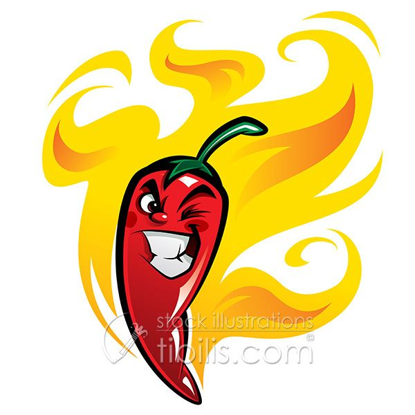 Red Hot Chili Pepper on Behance in 2019.
