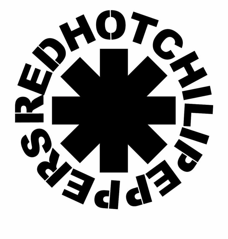 Red Hot Chili Peppers Logo Symbol Logo Red.