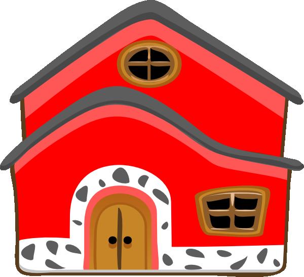 Casa Vermelha Red House Clip Art at Clker.com.