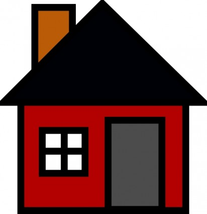 House Outline Clip Art.