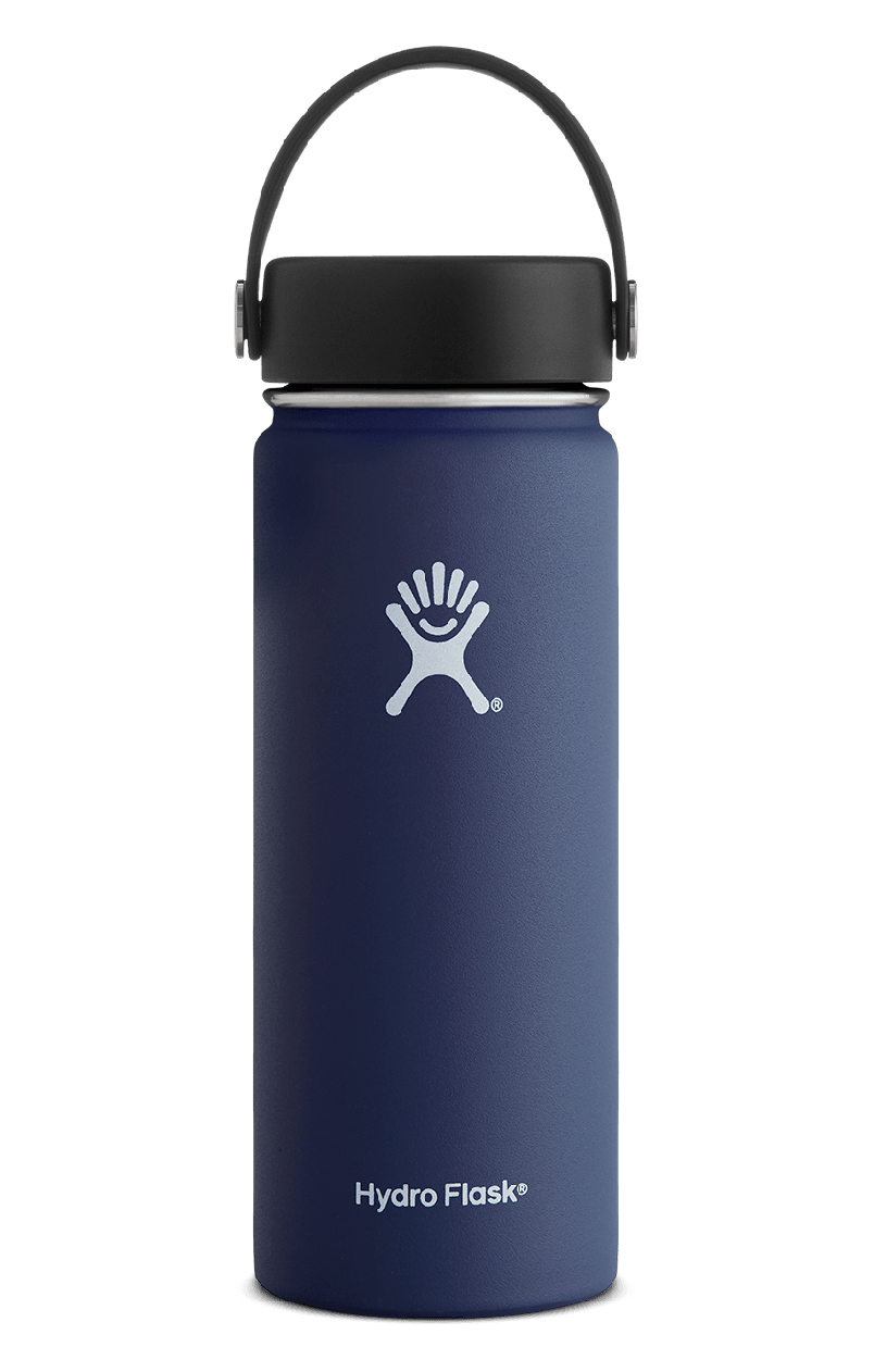 18 oz Wide Mouth Vacuum Insulated Water Bottle.