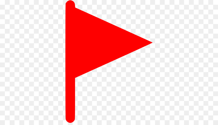 Red Flag Icon clipart.