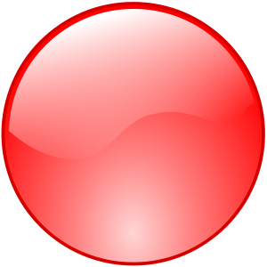 Red Button Icon Png #21050.