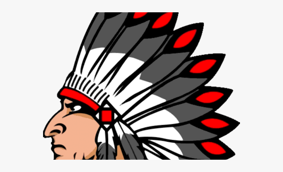 Headdress Clipart Red Indian.