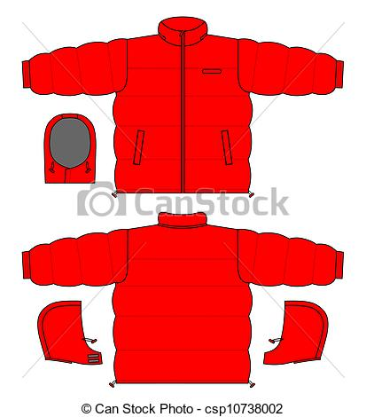 Vector Clipart of Jacket.