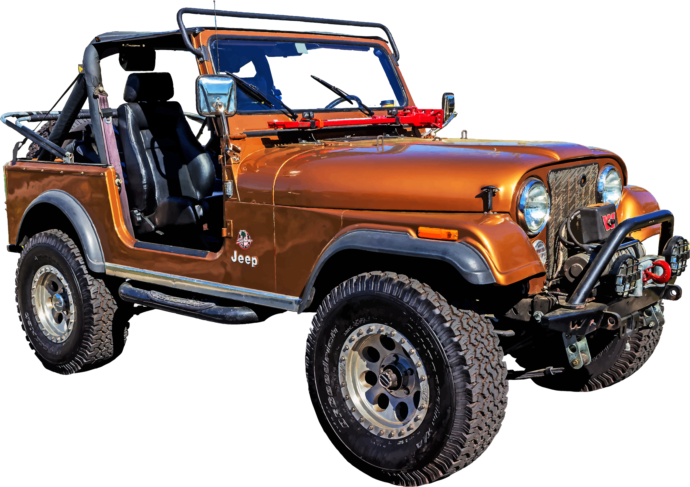 Free Clip art of Jeep Wrangler Clipart #5555 Best Red Jeep Clipart.