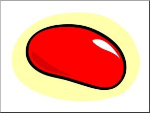 Jelly Bean Clipart.