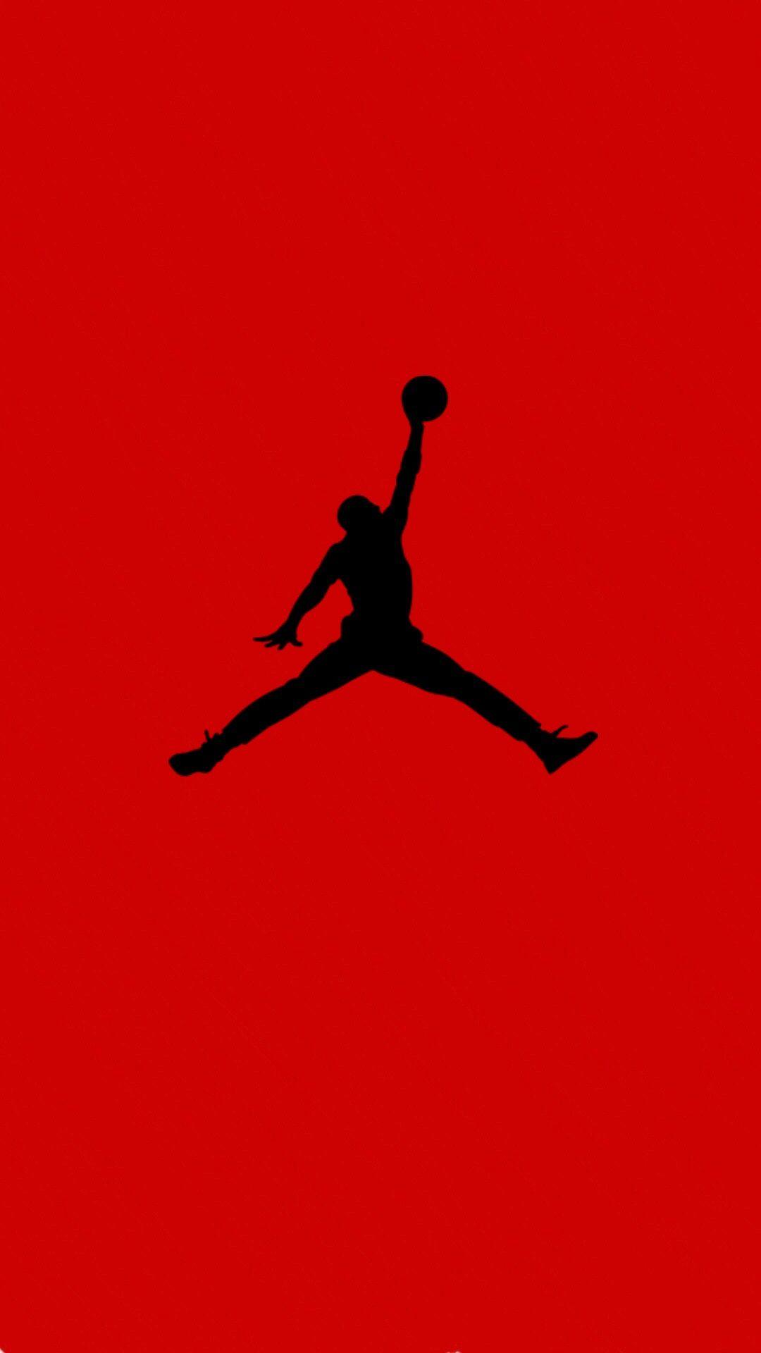 Air jordan logo iphone background en 2019.