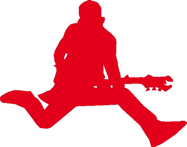 Red Guitar Jumper Clip Art at Clker.com.