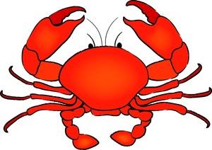 Free Crab Clip Art Image.