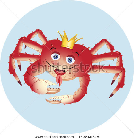Red king crab clipart #18