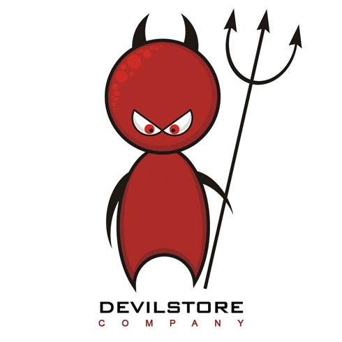 King PC Solutions :: Lil Devil Designs Corporate Identity.
