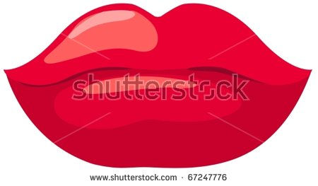 Kiss Lips Clip Art Stock Images, Royalty.