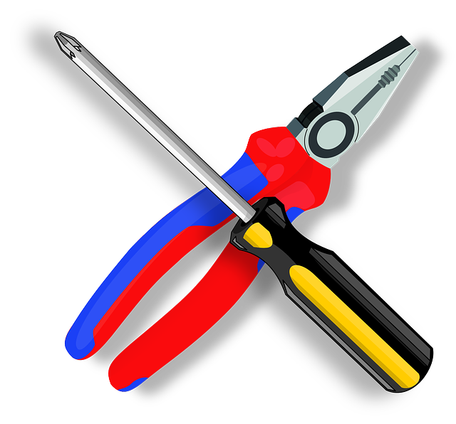 Free vector graphic: Tool, Pliers, Screwdriver.