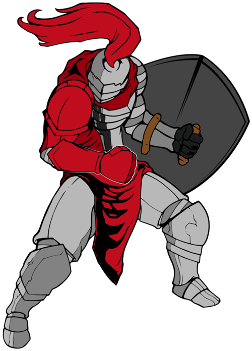 Knights clipart red knight, Knights red knight Transparent.