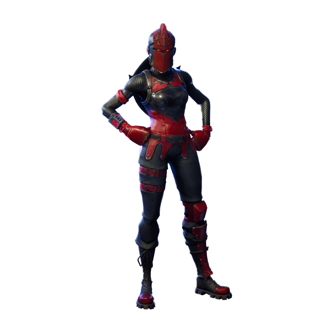 Fortnite Red Knight PNG Image.