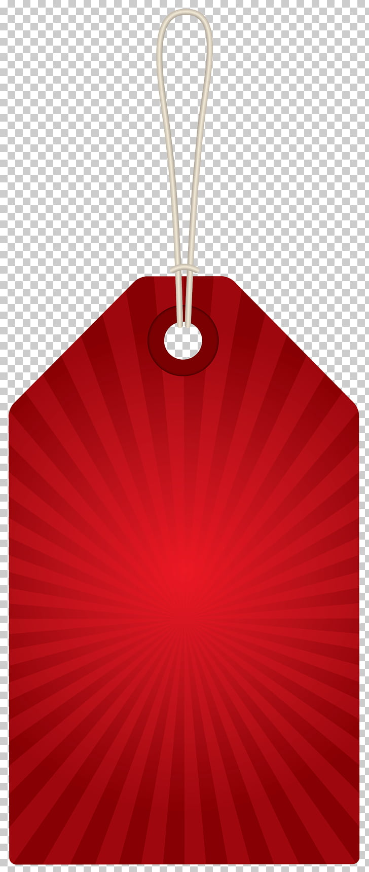 Red Design Product, Red Label , red striped hanging card.