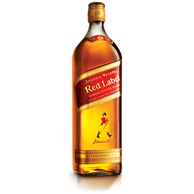 Johnnie Walker Red Label Scotch Whisky, 70cl Bottle, 40% ABV..